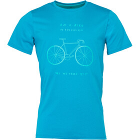 Triple2 Laag Bike - T-Shirt Homme - T-Shirt Men bleu